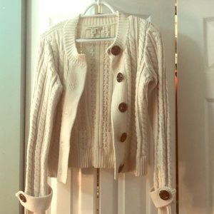 Banana Republic cream sweater